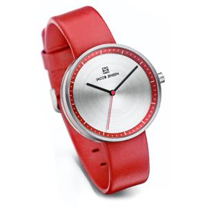 Jacob Jensen horlogeband Strata 283 Rood Leer 16mm