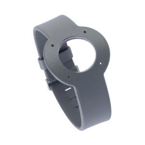 Jacob Jensen horlogeband Strata Grijs Leer 16mm