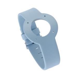 Jacob Jensen horlogeband Strata Lichtblauw Leer 16mm