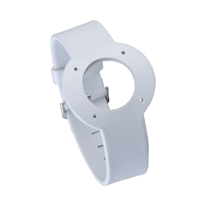 Jacob Jensen horlogeband Strata Wit Leer 16mm