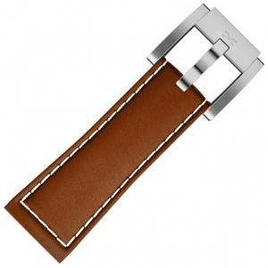 Marc Coblen / TW Steel Horlogeband Lichtbruin Leer 22mm