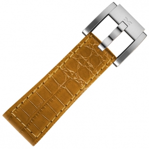 Marc Coblen / TW Steel Horlogeband Camel Leer Alligator 22mm