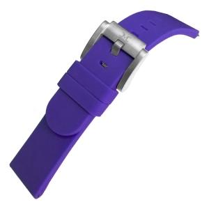 Marc Coblen / TW Steel Silicone Horlogeband Paars 22mm