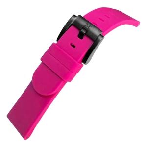 Marc Coblen / TW Steel Silicone Horlogeband Roze 22mm