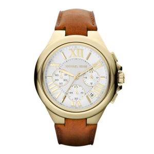 Michael Kors MK2266 Horlogeband Bruin Leer