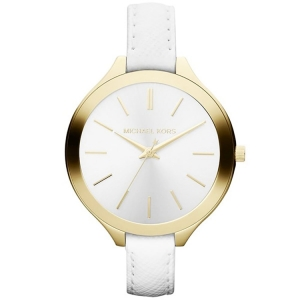 Michael Kors MK2273 Horlogeband Wit Leer