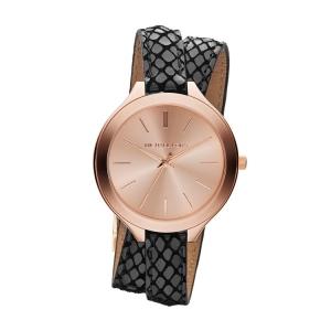 Michael Kors MK2322 Horlogeband Zwart Leer