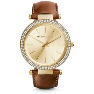Michael Kors MK2363 Horlogeband Bruin Leer