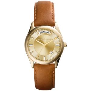 Michael Kors MK2374 Horlogeband Bruin Leer