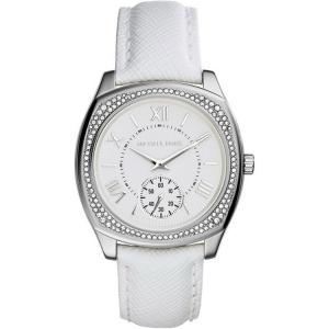 Michael Kors MK2385 Horlogeband Wit Leer
