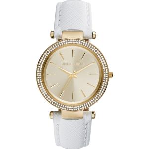 Michael Kors MK2391 Horlogeband Wit Leer