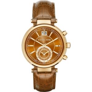 Michael Kors MK2424 Horlogeband Bruin Leer