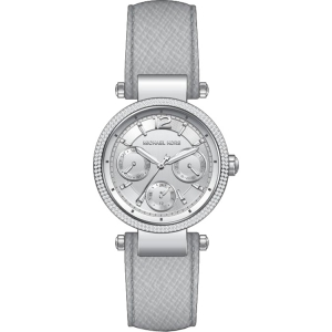 Michael Kors MK2503 Horlogeband Grijs Leer