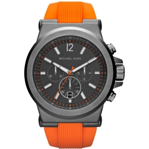 Michael Kors MK8296 Horlogeband Orangje Rubber