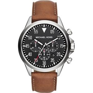 Michael Kors MK8333 Horlogeband Bruin Leer
