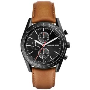 Michael Kors MK8385 Horlogeband Bruin Leer