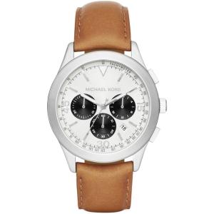 Michael Kors MK8470 Horlogeband Bruin Leer