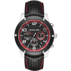 Michael Kors MK8475 Horlogeband Zwart Leer