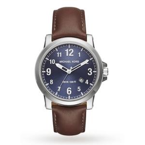Michael Kors MK8501 Horlogeband Bruin Leer