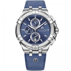 Maurice Lacroix Aikon AI1018 Horlogeband Denim