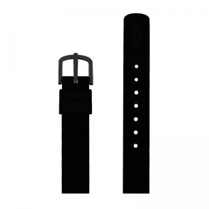 Picto Horlogebandje Zwart Rubber 43315 43360 - 12mm