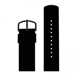 Picto Horlogebandje Zwart Rubber 43362 - 22mm