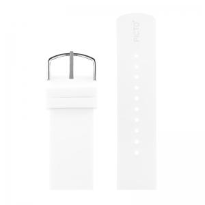 Picto Horlogebandje Wit Rubber 43365 - 22mm