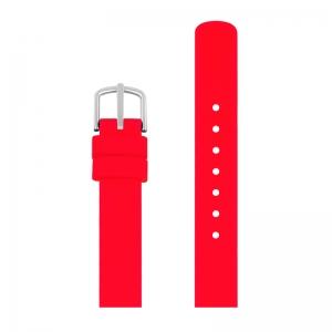 Picto Horlogebandje Rood Rubber 43366 - 12mm