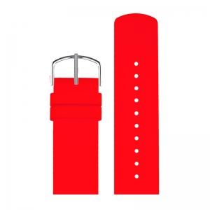 Picto Horlogebandje Rood Rubber 43368 - 22mm