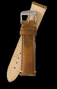 Fromanteel Vintage Leer Horlogeband Lichtbruin