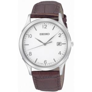 Seiko Horlogeband SGEE09P1 Bruin Leer