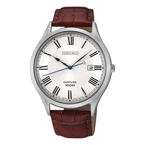 Seiko Quartz Horlogeband SGEG97 Bruin Leer