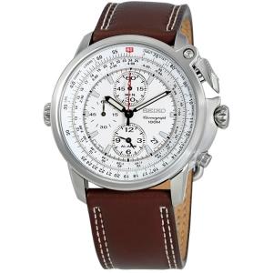 Seiko Horlogeband SNAB71 Bruin Leer