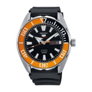 Seiko 5 Sports Horlogeband SRPC59 Zwart Rubber - 22mm