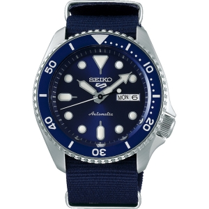 Seiko 5 Sports Horlogeband SRPD51 Blauw Nato 22mm