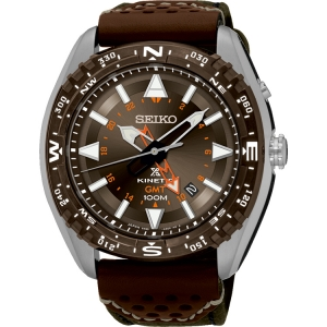 Seiko Prospex Horlogeband SUN061 Bruin Leer