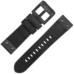 TW Steel NightRider NR3 Horlogeband Zwart 24mm