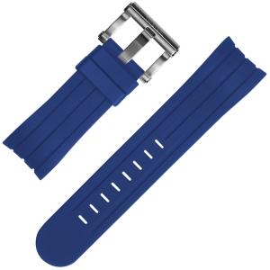 TW Steel Grandeur Tech Horlogebandje Blauw Rubber Universeel