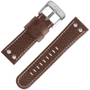 TW Steel Universeel Horlogebandje Bruin Leer