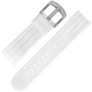 TW Steel Horlogebandje TW94, Sensation - Wit Rubber 22mm
