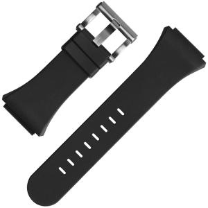 TW Steel Horlogebandje TW680 Renault F1 CEO Tech 44mm - Zwart Rubber