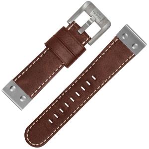TW Steel Horlogebandje CS26 Bruin 24mm