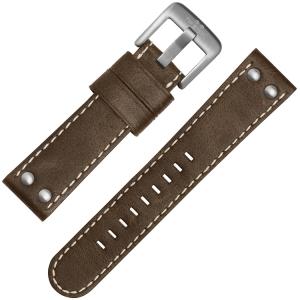 TW Steel Horlogebandje CS32, CS34 Bruin 24mm