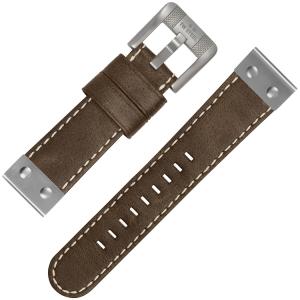 TW Steel Horlogebandje CS35 Bruin 22mm