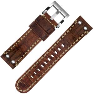 TW Steel Horlogebandje MS4, MS6 Bruin 24mm