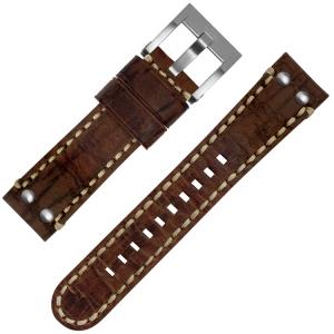 TW Steel Horlogebandje MS21 Bruin 22mm