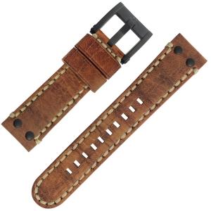 TW Steel Horlogebandje MS43, MS45 Camel 22mm