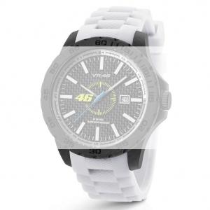 TW Steel VR3 Valentino Rossi VR|46 Horlogebandje - Wit Rubber 20mm