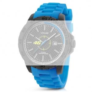 TW Steel VR5 Valentino Rossi VR|46 Horlogebandje - Blauw Rubber 20mm