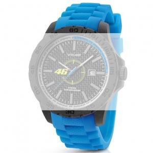 TW Steel VR6 Valentino Rossi VR|46 Horlogebandje - Blauw Rubber 22mm